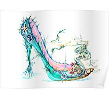 Mermaid Slipper Poster