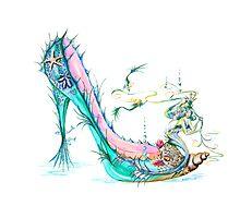 Mermaid Slipper Photographic Print