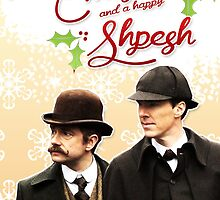 Sherlock Special Christmas Card by thescudders