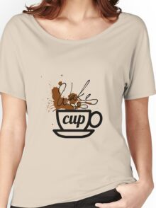 wake cup Women's Relaxed Fit T-Shirt
