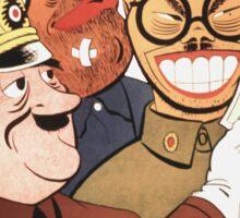 Be Sure You Have Correct Time -- WW2 Propaganda Sticker