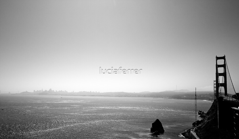 Golden Gate by luciaferrer