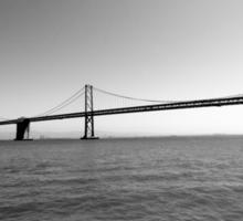 San Francisco Bay Bridge Sticker