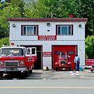 Union Bay Fire Dept. BC Canada by AnnDixon