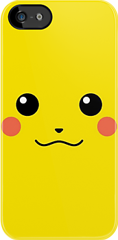 Pikachu iphone case by Nintendoguy