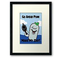 Dolphin - Make My Day Framed Print