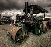 Steam Roller at the GDSF by Rob Hawkins
