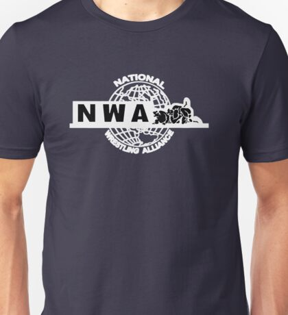 NWA logo variation 3 Unisex T-Shirt