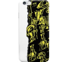 Yellow Faces iPhone Case/Skin