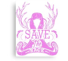 [Limited] Breast Cancer Awareness T-Shirts Canvas Print