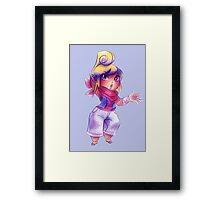Tetra - Colored Pencil Framed Print