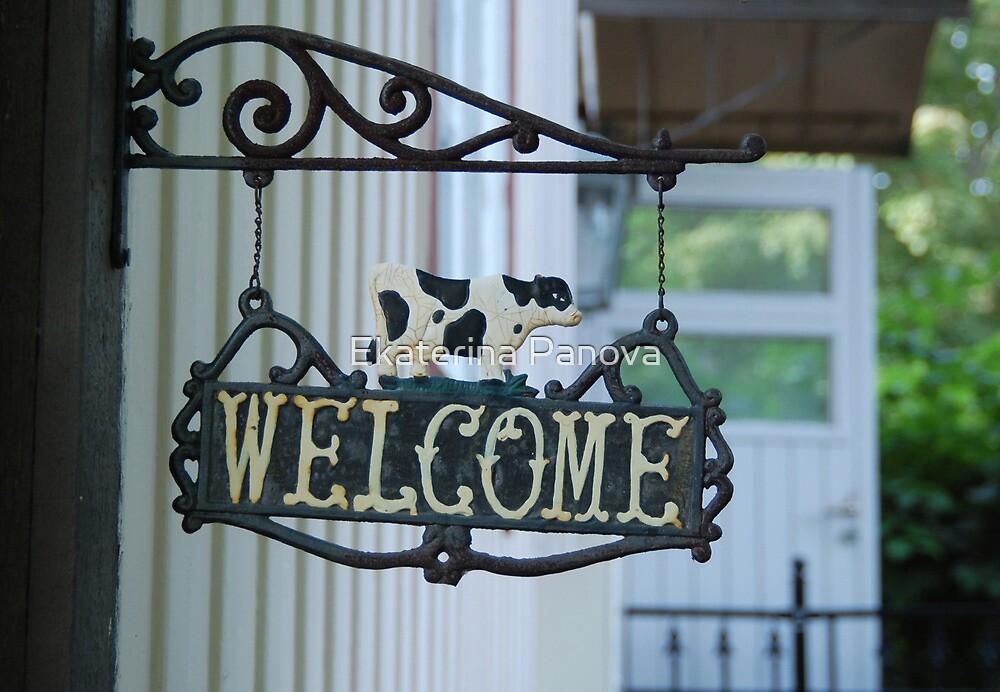 Welcome! by Ekaterina Panova