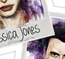Jessica Jones and Kilgrave Sticker