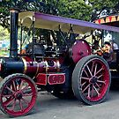 NZ Steam Fair - Red     by DavidsArt