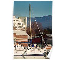 Mt Wellington & Constitution Dock, Hobart Poster