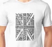 Black and White icon. Unisex T-Shirt