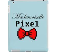 mademoiselle pixel iPad Case/Skin