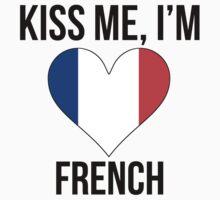 Kiss Me I'm French Kids Tee