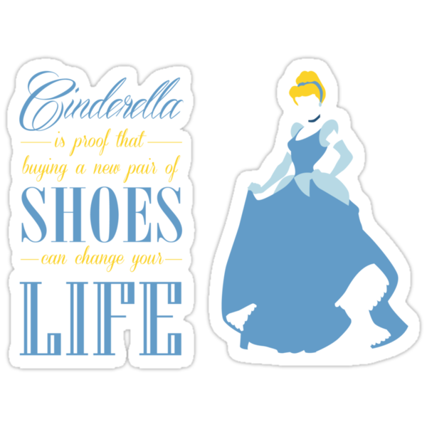 Cinderella - Shoes can change your life by Adekin