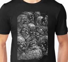 Spooky Faces Unisex T-Shirt