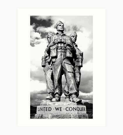 Royal Marine Commando Art Print