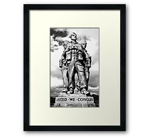 Royal Marine Commando Framed Print