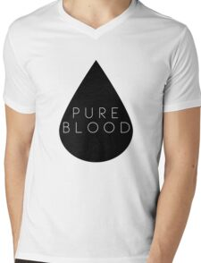 Pure Blood Mens V-Neck T-Shirt