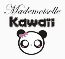 mademoiselle kawaii Kids Tee