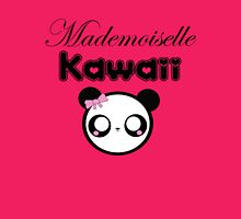mademoiselle kawaii Womens Fitted T-Shirt
