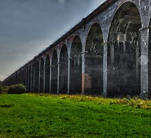 harringworth viaduct by clayton  jordan