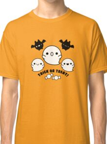 Halloween Adorable Kawaii Bats Ghosts and Candy Classic T-Shirt