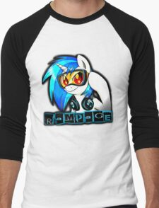 Dubstep Unicorn Men's Baseball ¾ T-Shirt