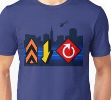 Up, Down, & All Around - Speed Highway Unisex T-Shirt