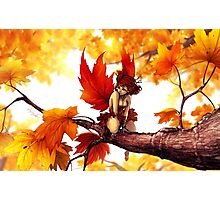 The Maple Fairy Photographic Print