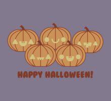 Halloween Adorable Kawaii Pumpkins Kids Tee