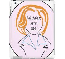 Mulder It's Me (v. 2) iPad Case/Skin