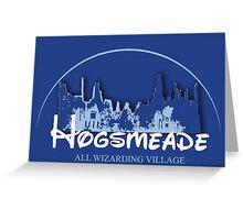 Hogsmeade Land Greeting Card