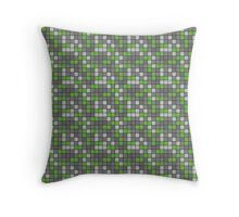 Minecraft - Emerald Ore Pattern Throw Pillow