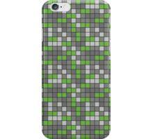 Minecraft - Emerald Ore Pattern iPhone Case/Skin