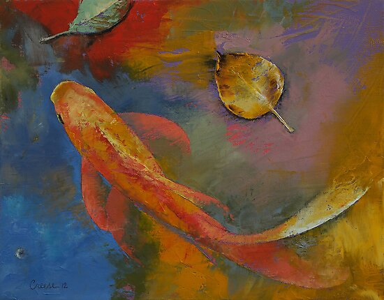Gold Leaf by Michael Creese