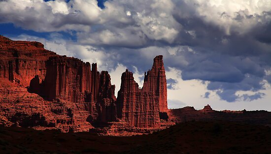 Fisher Tower by Cyn  Valentine