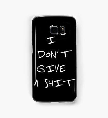i don't give a shit BTS Samsung Galaxy Case/Skin
