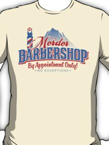 Mordor Barbershop T-Shirt