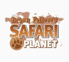 Brian Fellow's Safari Planet One Piece - Short Sleeve