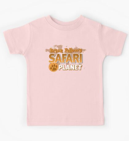 Brian Fellow's Safari Planet Kids Tee