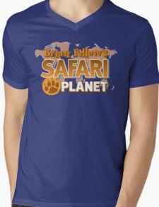 Brian Fellow's Safari Planet Mens V-Neck T-Shirt