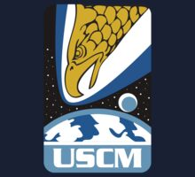 Aliens Movie - Colonial Marines USCM  by metacortex