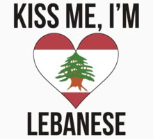Kiss Me I'm Lebanese One Piece - Short Sleeve