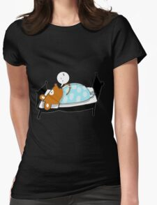 Good night Willy Womens Fitted T-Shirt