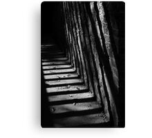 Passage shadows Canvas Print
